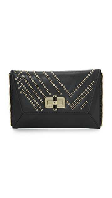 c0aa54cd8e01 Diane von Furstenberg 440 Gallery Secret Agent Clutch | SHOPBOP