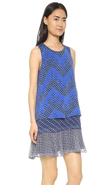 Diane von Furstenberg Liza Layered Dress