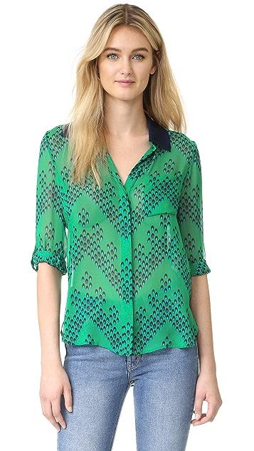 b3ed5b1d889fe0 Diane von Furstenberg Lorelei Two Silk Top