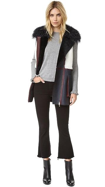 Diane von Furstenberg Shearling Vest