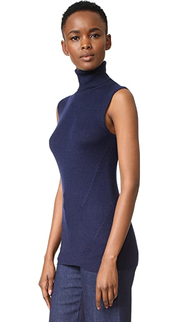 Diane von Furstenberg Sutton Sleeveless Turtleneck