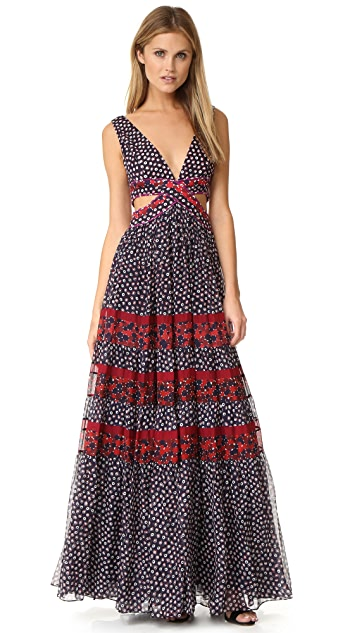 Diane von Furstenberg Altessa Cutout Dress