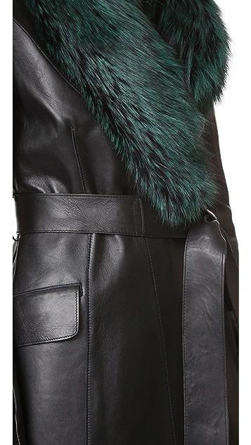 Diane von Furstenberg Valinda Trench Coat