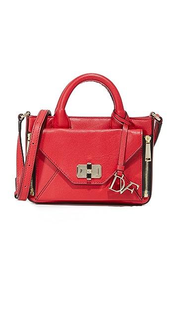 fae5bd29ed Diane von Furstenberg 440 Micro Secret Agent Cross Body Bag