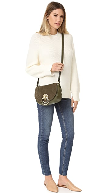 Diane von Furstenberg Love Power Saddle Bag