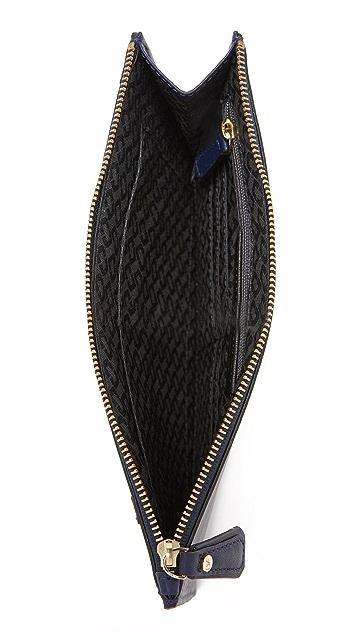 Diane von Furstenberg Patchwork Zip Top Pouch