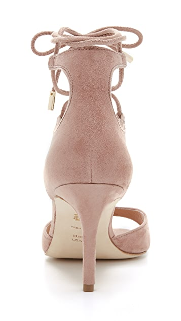 Diane von Furstenberg Rimini Lace Up Sandals