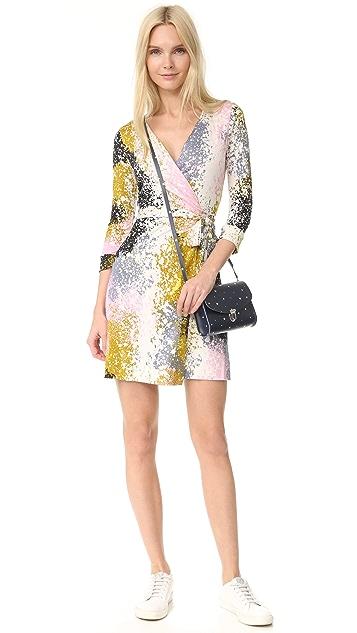 Diane von Furstenberg New Julian Two Mini Dress