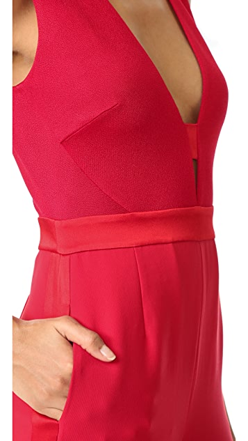 Diane von Furstenberg Kyara Tux Jumpsuit