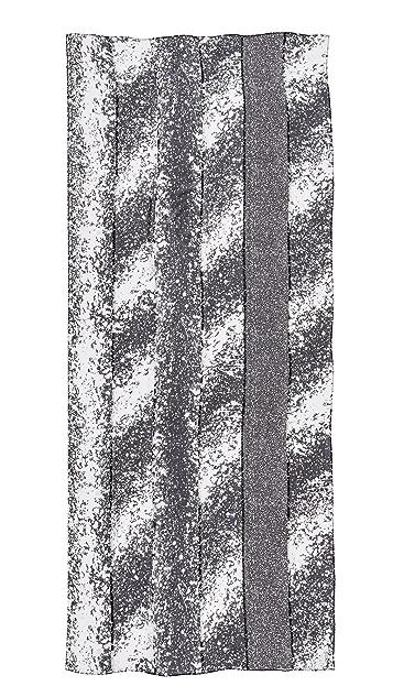 Diane von Furstenberg New Boomerang Stella Fresco Scarf