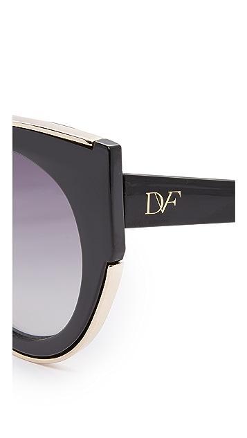 Diane von Furstenberg Norah Sunglasses