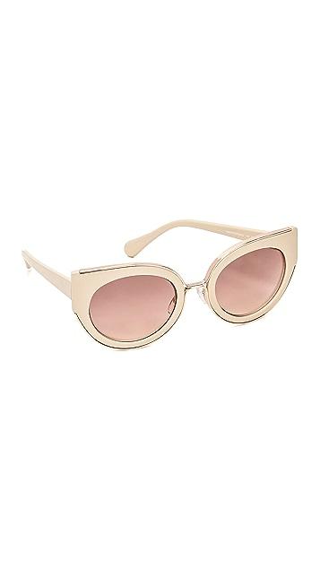 8941321476320 Diane von Furstenberg Norah Sunglasses
