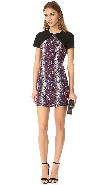 Diane von Furstenberg Printed Tailored Dress