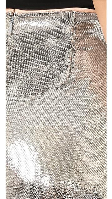 Diane von Furstenberg Юбка-карандаш с блестками