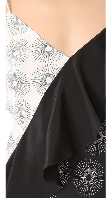 Diane von Furstenberg Asymmetrical Dress