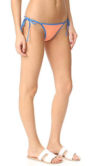 Diane von Furstenberg Reversible String Bikini Bottoms