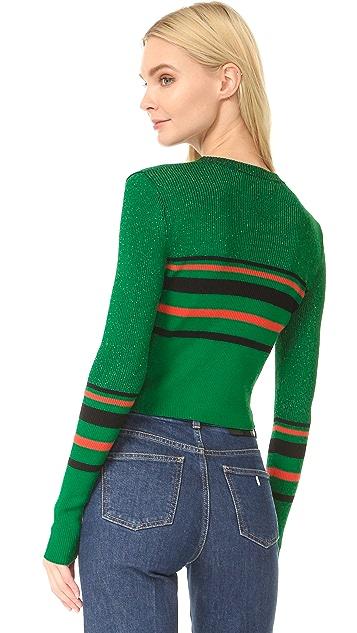 Diane von Furstenberg Long Sleeve Pullover