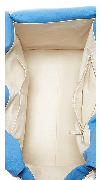 Diane von Furstenberg Canvas Weekender Bag