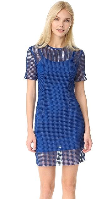 Diane von Furstenberg Кружевное платье Chain