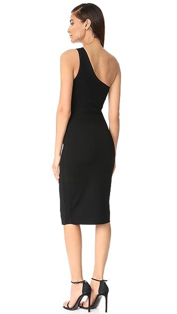 Diane von Furstenberg One Shoulder Knit Dress