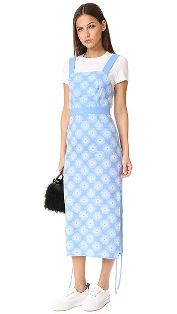 Diane von Furstenberg Sleeveless Cross Neck Dress