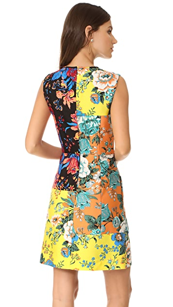 Diane von Furstenberg Sleeveless Tailored Dress
