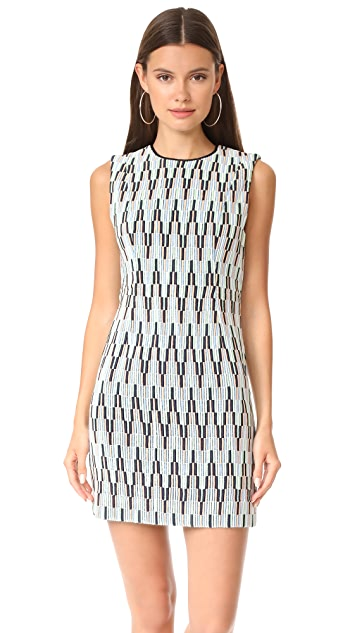 Diane von Furstenberg Sleeveless Tailored Mini Dress