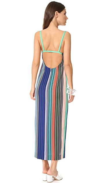 Diane von Furstenberg Side Slit Dress