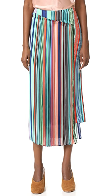 Diane von Furstenberg Overlay Skirt