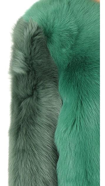 Diane von Furstenberg Fur Jacket