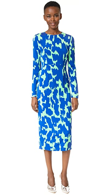 Diane von Furstenberg Tailored Midi Dress