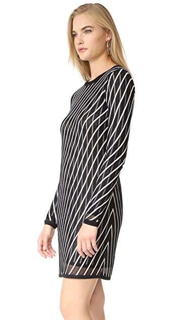 Diane von Furstenberg Crew Neck Knit Dress