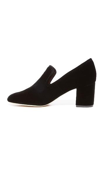 Diane von Furstenberg Rimella Heeled Loafers