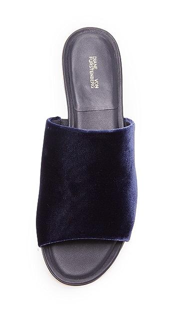 Diane von Furstenberg Samassi Slide Sandals