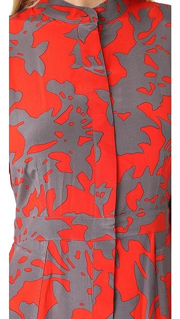 Diane von Furstenberg Maxi Length Shirtdress