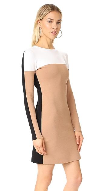 Diane von Furstenberg Трикотажное платье с округлым вырезом