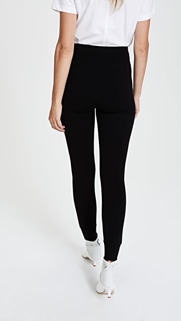 Diane von Furstenberg Knit Leggings