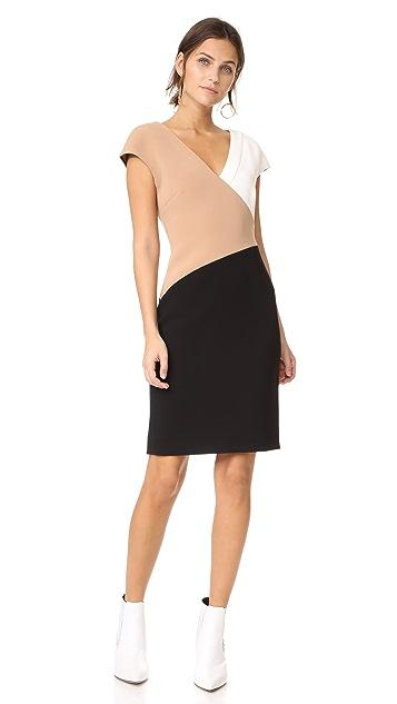 10200ff5dde1a9 ... Diane von Furstenberg V Neck Banded Dress ...