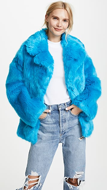 Diane von Furstenberg Collared Jacket