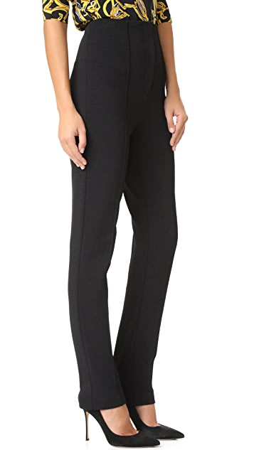 Diane von Furstenberg High Waisted Skinny Pants