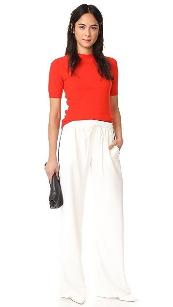 Diane von Furstenberg Mock Cashmere Pullover