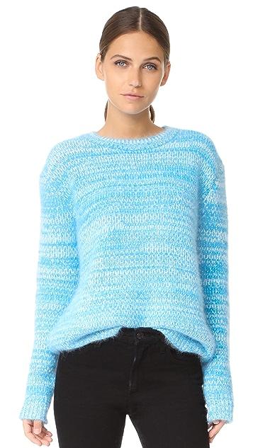 Diane von Furstenberg Angora Marl Sweater ...