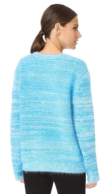 Diane von Furstenberg Angora Marl Sweater