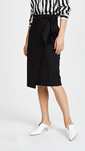 c8f27ce59 Diane von Furstenberg Side Knot Skirt | SHOPBOP