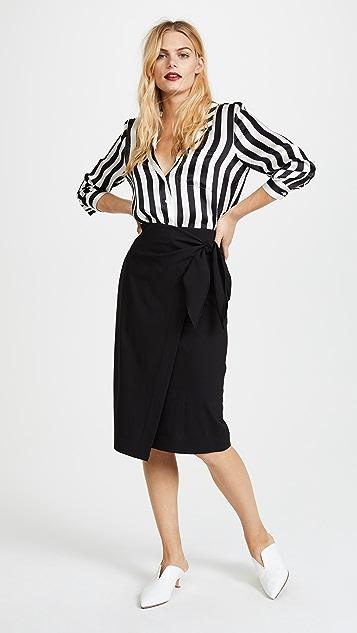 Diane von Furstenberg Side Knot Skirt