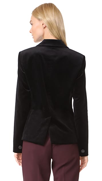 Diane von Furstenberg Velvet Blazer