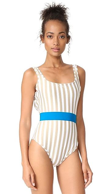 Diane von Furstenberg Classic One Piece Swimsuit