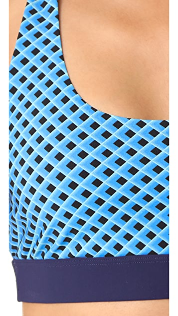 Diane von Furstenberg Sport Bikini Top