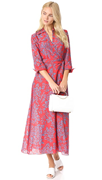 Diane von Furstenberg Callow Beach Wrap Dress
