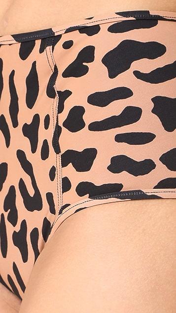 Diane von Furstenberg Leopard Bikini Bottoms